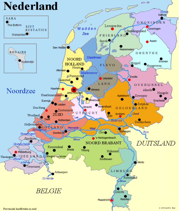 Provinces of the Netherlands.