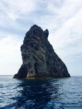 Tiny island.